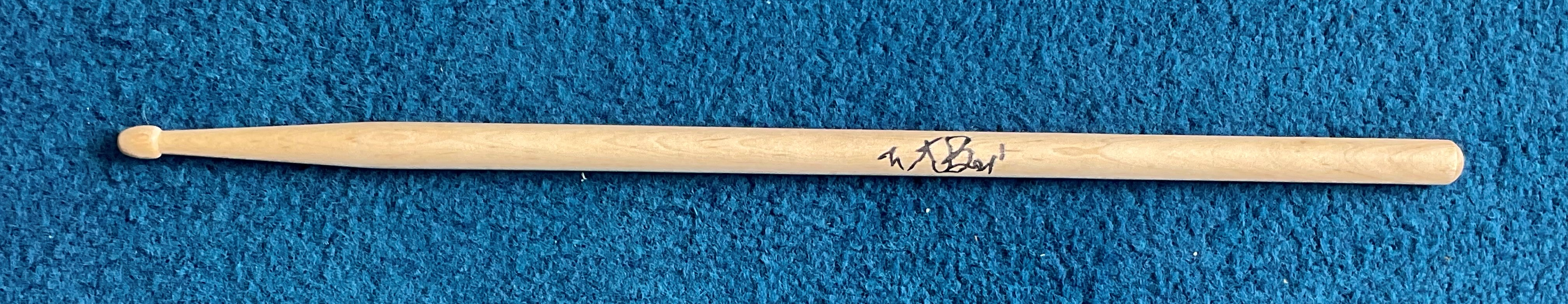 Charlie Watts signed drumstick. Charles Robert Watts (born 2 June 1941) is an English drummer,
