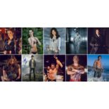 Blowout Sale! Lot of 19 horror / sci-fi / UFC hand signed 10x8 photos. This beautiful lot of 19 hand