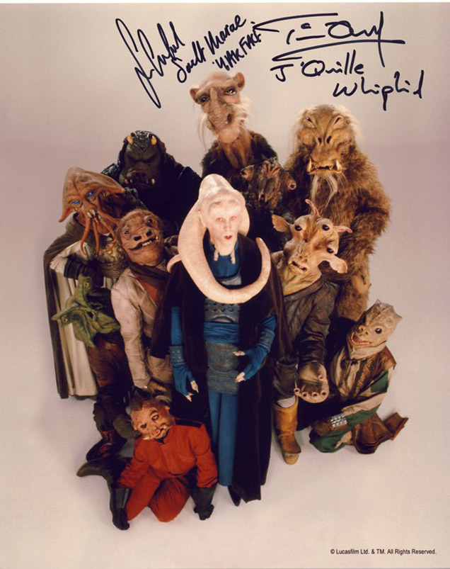 Blowout Sale! Lot of 10 Star Wars hand signed 10x8 photos. This beautiful lot of 10 hand signed - Image 2 of 11