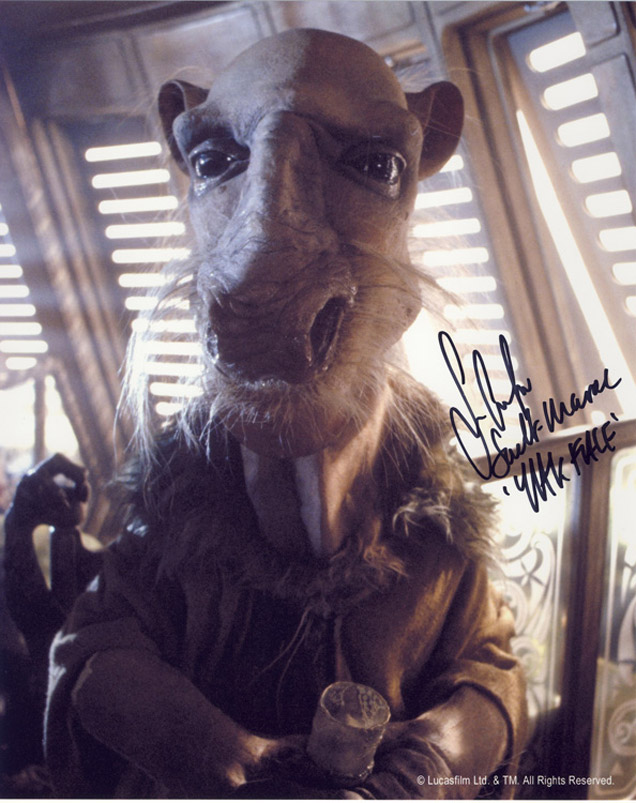 Blowout Sale! Lot of 10 Star Wars hand signed 10x8 photos. This beautiful lot of 10 hand signed - Image 4 of 11