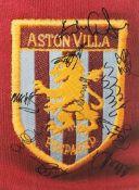 Football Aston Villa multi signed 16x12 multi signed colour photo.