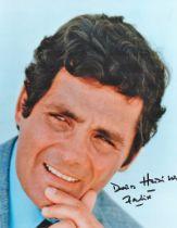 Actor David Hedison signed 10x8 Coloured Photo