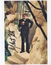 Actor Yaphet Kotto Signed 10x8 Coloured Photo