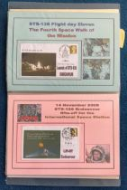 59 Space Exploration FDC with Stamps and FDI Postmarks, Housed in a Binder