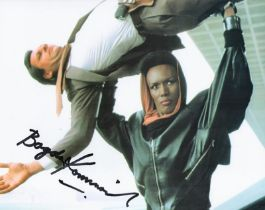 Actor Bogdan Kominowski signed 10x8 Coloured Photo