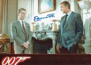 Actor Edward Fox signed 10x8 Coloured Photo