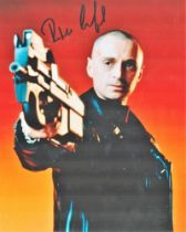 Actor Robert Carlyle Signed 10x8 Coloured Photo