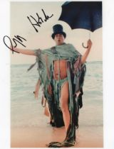 Actor Geoffrey Holder signed 10x8 Coloured Photo