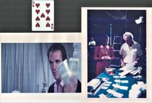 James Bond Poker playing card prop from the film License to Kill also includes colour photo from the