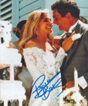 Actor Priscilla Barnes Signed 10x8 Coloured Photo