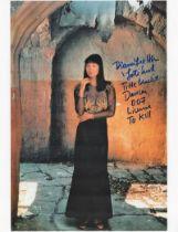 Actor Diane Lee- Hsu Signed 10x8 Coloured Photo