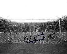 Football Ray Stewart signed West Ham United 10x8 black and white photo.