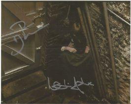 Quadrophenia Phil Daniels, Leslie Ash signed 10 x 8 inch colour photo