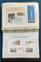 62 Space Exploration FDC with Stamps and FDI Postmarks, Housed in a Binder