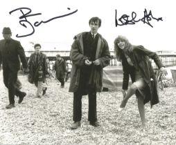 Quadrophenia Phil Daniels and Leslie Ash signed photo.