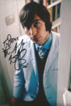 Charlie Watts signed and dedicated 10x8 colour photo. Charlie is well known for his part in the band