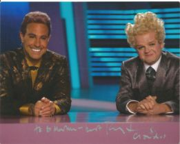 Toby Jones Hunger Games signed 10x8 colour photo. Claudius Templesmith is played by Toby Jones. The