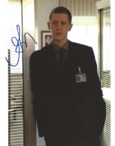 Gabriel Mann actor signed colour photo 10 x 8 inch. Gabriel Mann is an American actor and model,