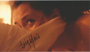 Ashlynn Yennie actor signed 10 x 8 inch Colour Photo. Ashlynn Yennie is an American actress from