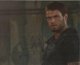 Kellen Lutz actor signed colour photo 10 x 8 inch. Kellan Christopher Lutz is an American actor