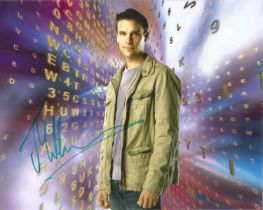 Joseph Millson actor signed colour photo 10 x 8 inch. A regular face on British TV screens from