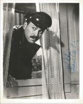 Alan Arkin actor signed 10 x 8 inch Black And White Photo. Dedicated. Alan Wolf Arkin is an American