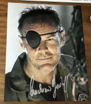 Andrew Divoff actor signed 10 x 8 inch Colour Photo. Andrew Daniel Divoff is a Venezuelan actor
