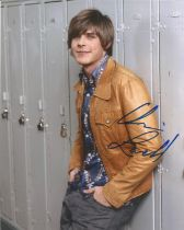 Chris Lowell Life As We Know It actor signed colour photo 10 x 8 inch. Christopher Chris Lowell is