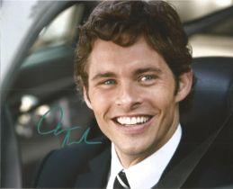 James Marsden actor signed colour photo 10 x 8 inch. James Paul Marsden is an American actor,
