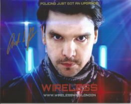 Andrew Lee Potts actor signed 10 x 8 inch Colour Photo. Andrew Lee Potts is an English actor and