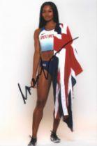 Olympics Imani Lara Lanisiquot signed 6x4 colour photo.