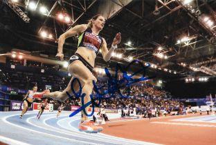 Olympics Eilidh Doyle signed 6x4 colour photo.