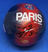 Football Edinson Cavani signed Paris St Germain miniature football.