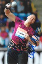 Olympics Valeria Adams signed 6x4 colour photo.