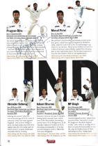 Cricket England v India 4th Test 2011 multi signed programme.