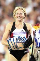 Olympics Heike Drechsler signed 6x4 colour photo.