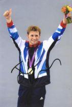 Olympics Jason Kenny signed 6x4 colour photo.