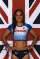 Olympics Emily Diamond signed 6x4 colour photo.