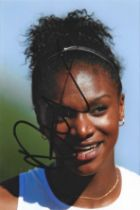 Olympic Dina Asher Smith signed 6x4 colour photo.