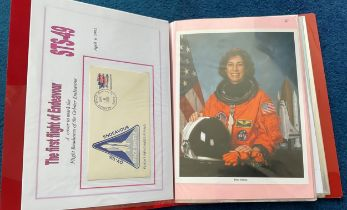 32 Space Exploration FDC with Stamps and FDI Postmarks, Housed in a Binder with Stunning NASA
