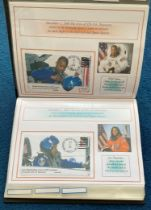31 Space Exploration FDC with Stamps and FDI Postmarks, Housed in a Binder with Stunning NASA
