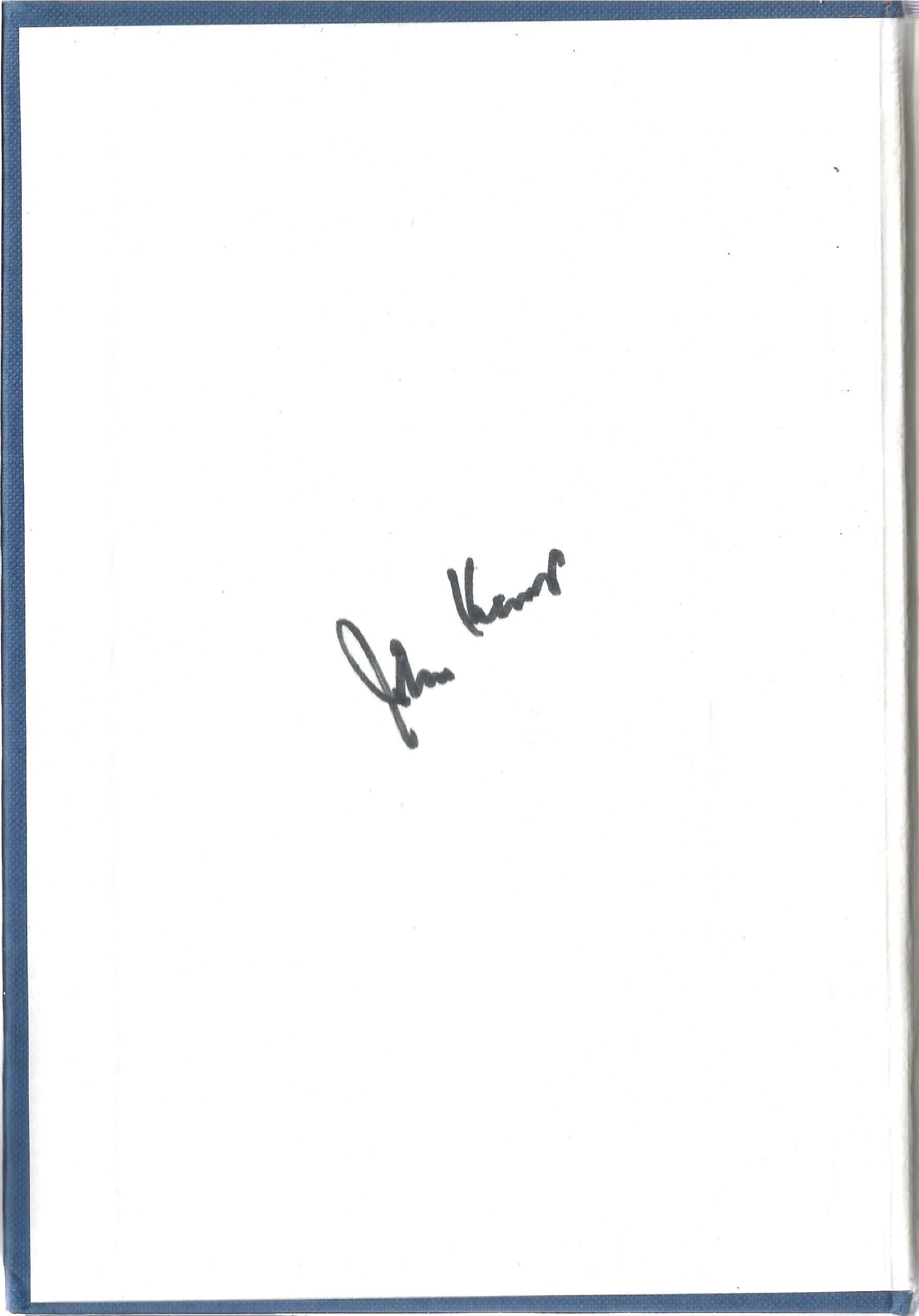John Kemp. Off To War With 054. A WW2 First Edition Hardback book in good condition. Signed by - Image 2 of 2