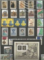 GB Mint Stamps Collectors Pack 1990 Good condition. All autographs come with a Certificate of