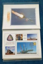40 Space Exploration FDC with Stamps and FDI Postmarks, Housed in a Binder with Stunning NASA