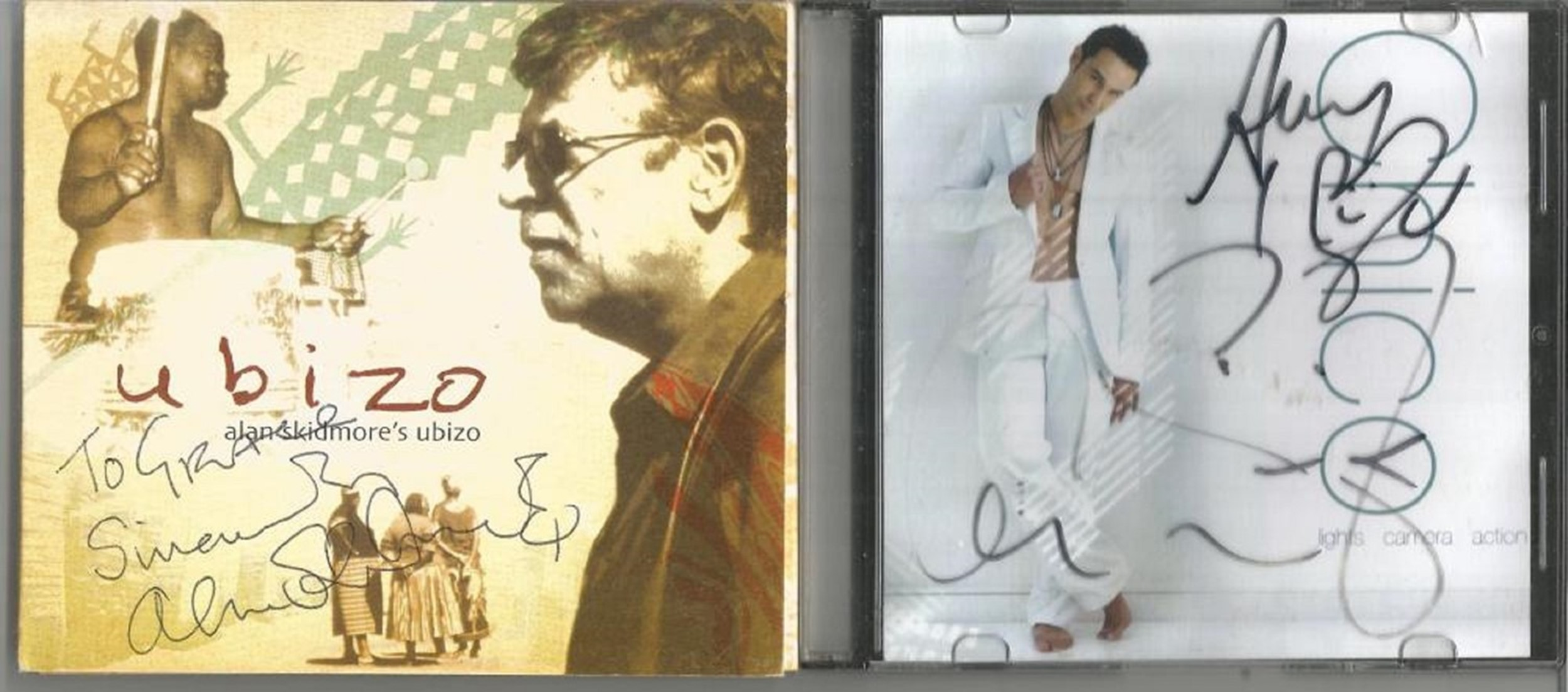 6 Signed CDs Including Belle Canto Whisper of Angels Disc Included, Pissboy Dream City Film Club