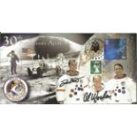 Space Moonwalker Dave Scott and Al Worden NASA Astronaut signed 2001 Apollo 15 Limited Edition