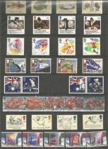 GB Mint Stamps Collectors Pack 1988 Good condition. All autographs come with a Certificate of