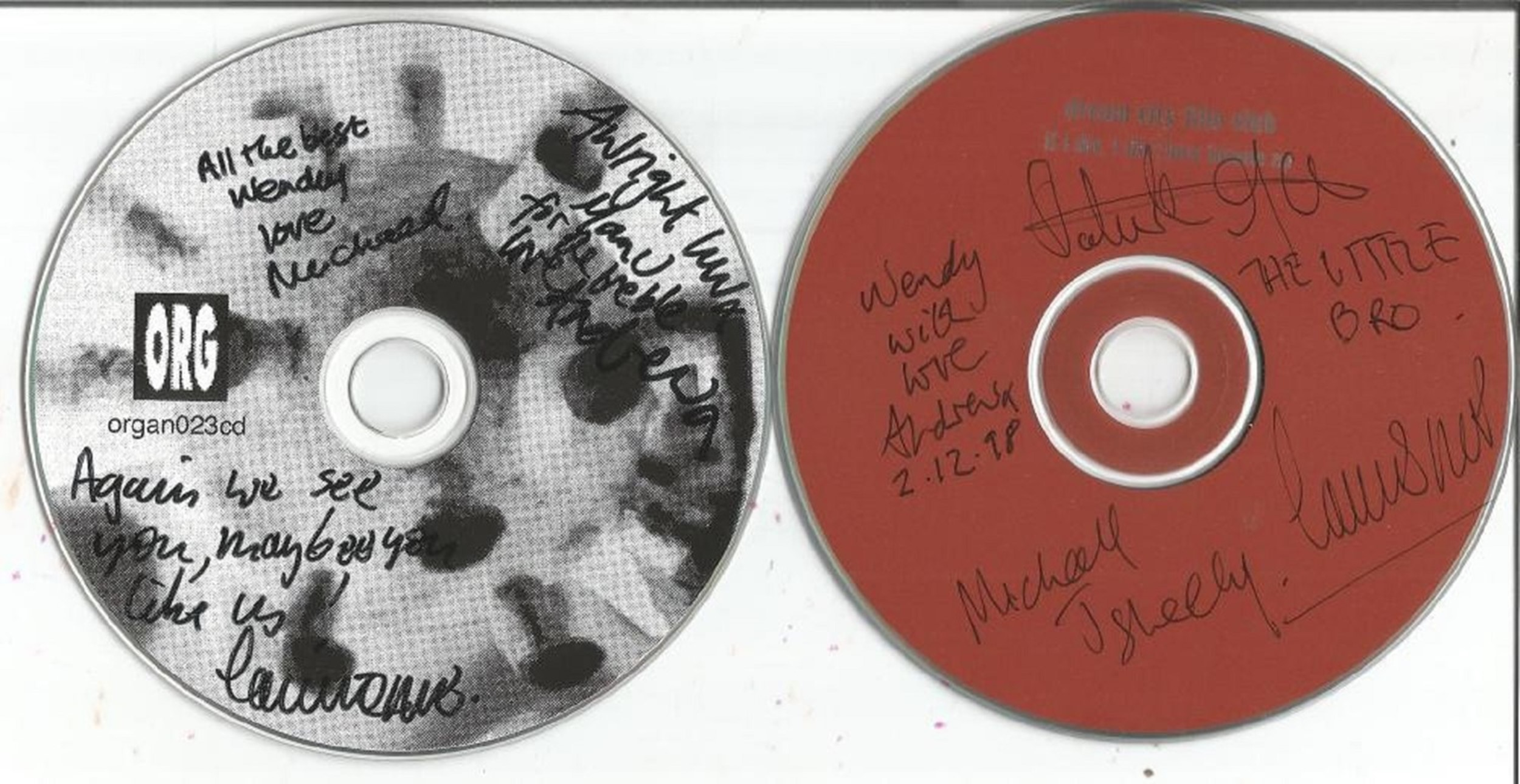 6 Signed CDs Including Ruarri Joseph Both Sides of the Coin Disc Included, Belvedere Faded - Image 2 of 3
