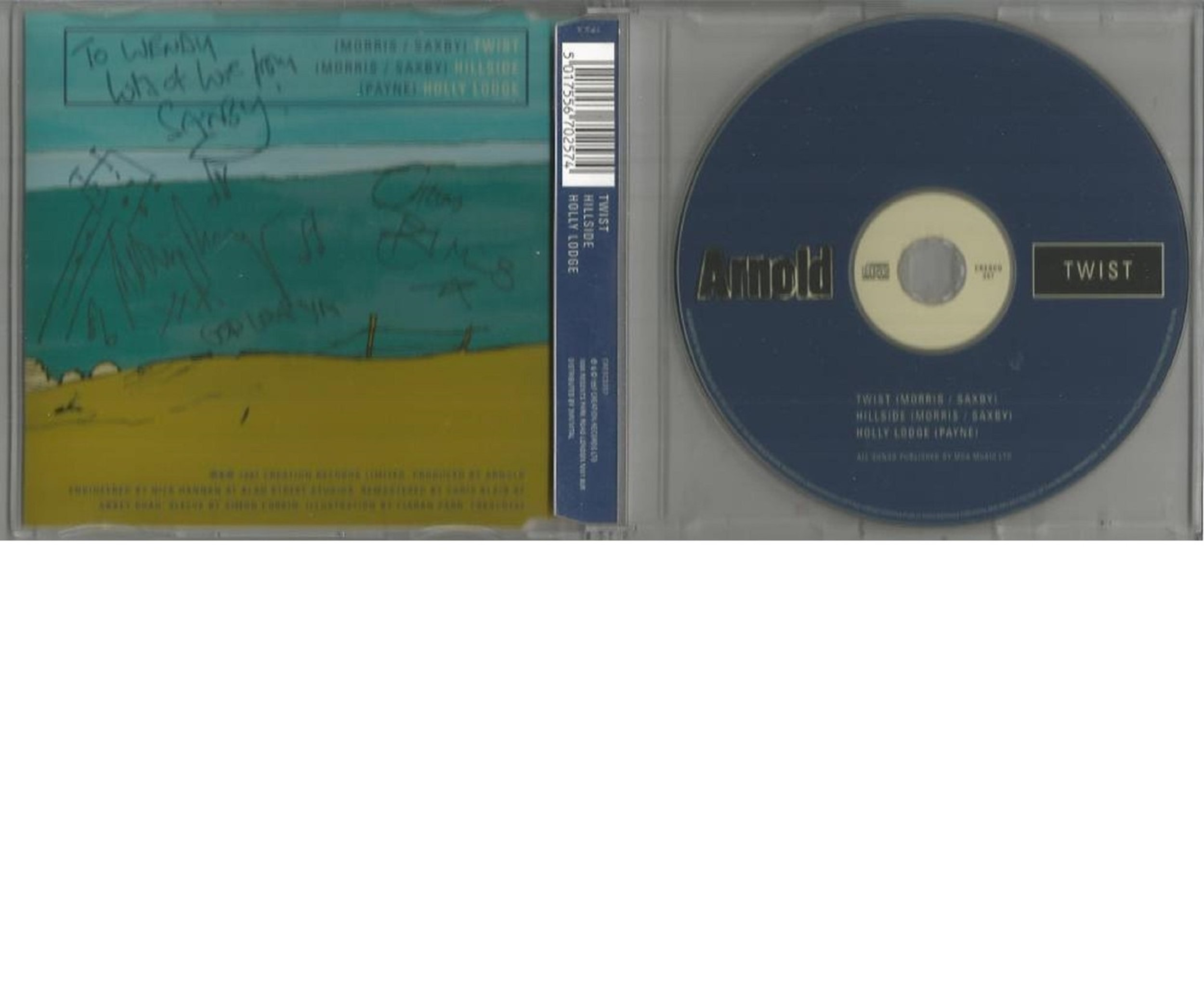 6 Signed CDs Including Belle Canto Whisper of Angels Disc Included, Pissboy Dream City Film Club - Image 3 of 3