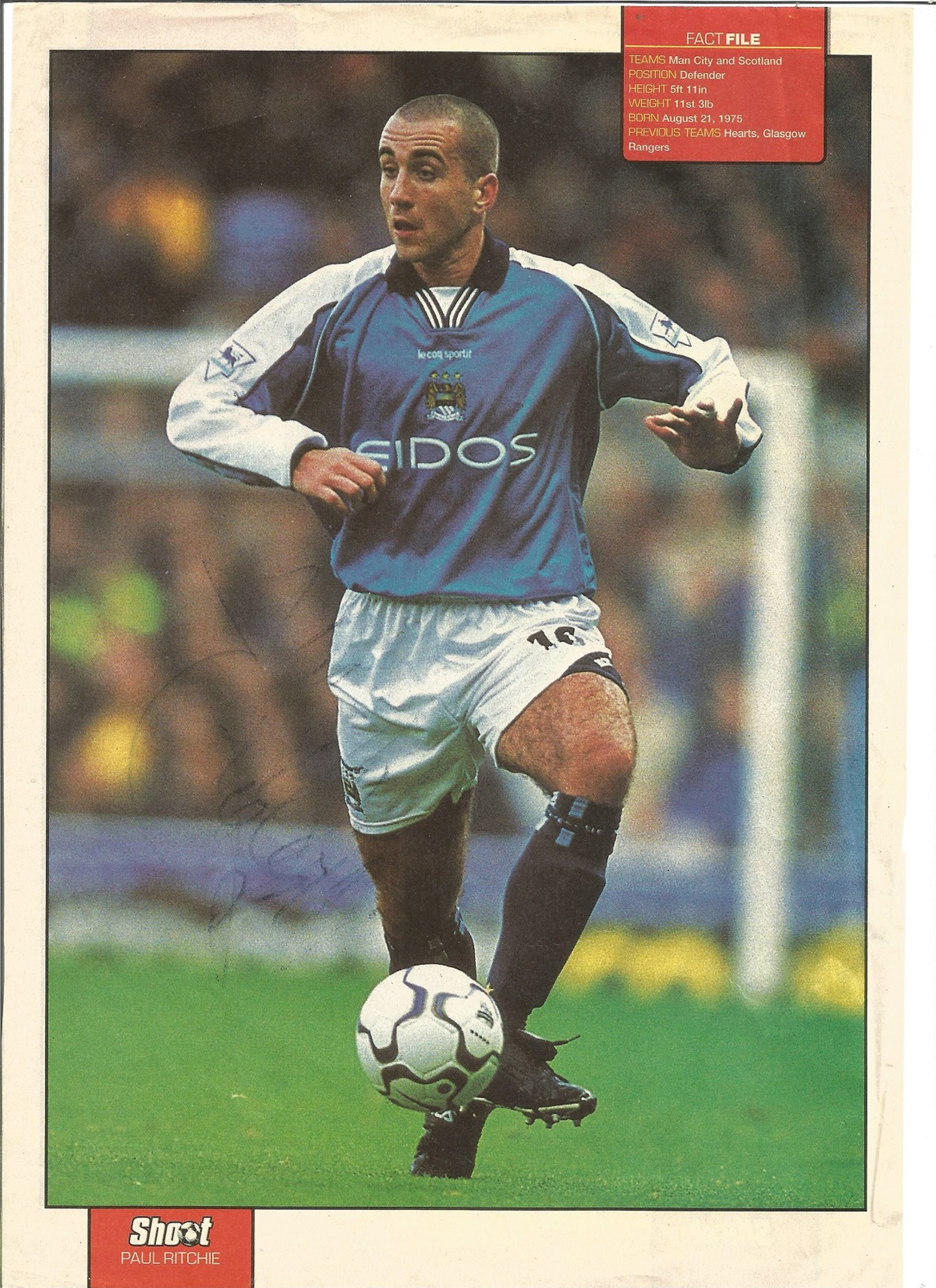 Football Collection Signed and Unsigned Magazine Cuttings and Signature Pieces, Including Andy